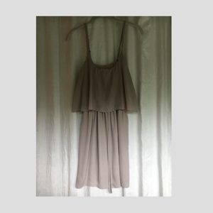 Women's Tan Dress